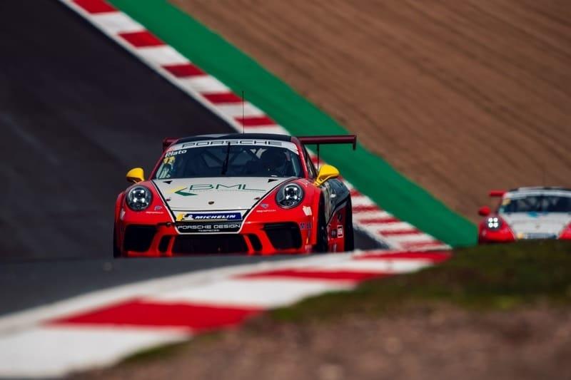 Plato tops final practice ahead of 2019 Carrera Cup GB season