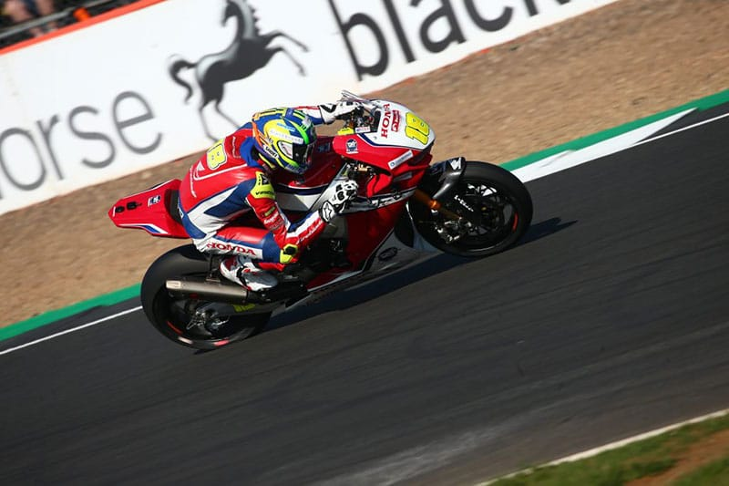 Andrew Irwin takes positives from Silverstone