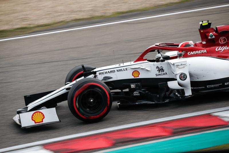 Antonio Giovinazzi - Alfa Romeo Racing - Shanghai International Circuit