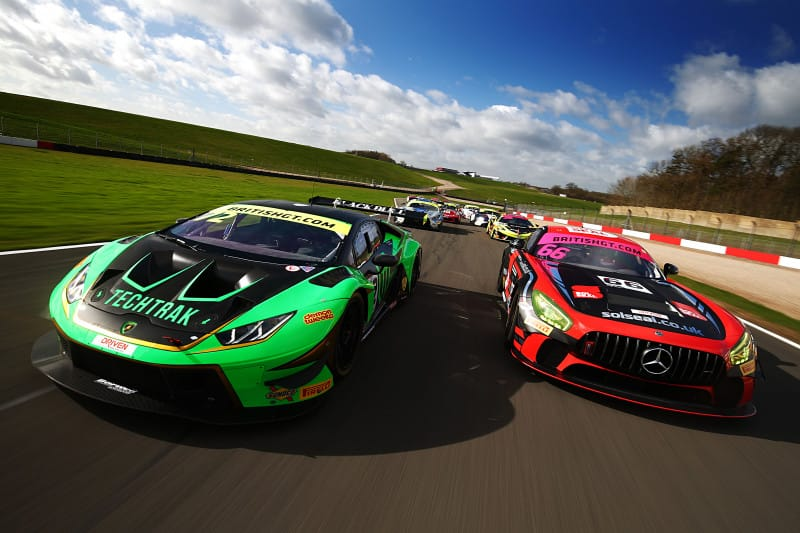 GT3 and GT4 entrants to the British GT Championship