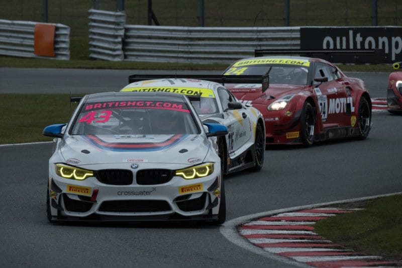 The BMW M4 GT4 of Century Motorsport.
