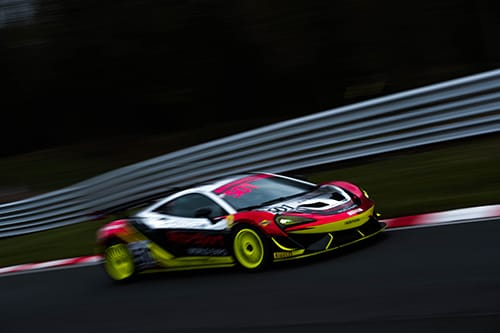 The Balfe Motorsport McLaren 570s GT4