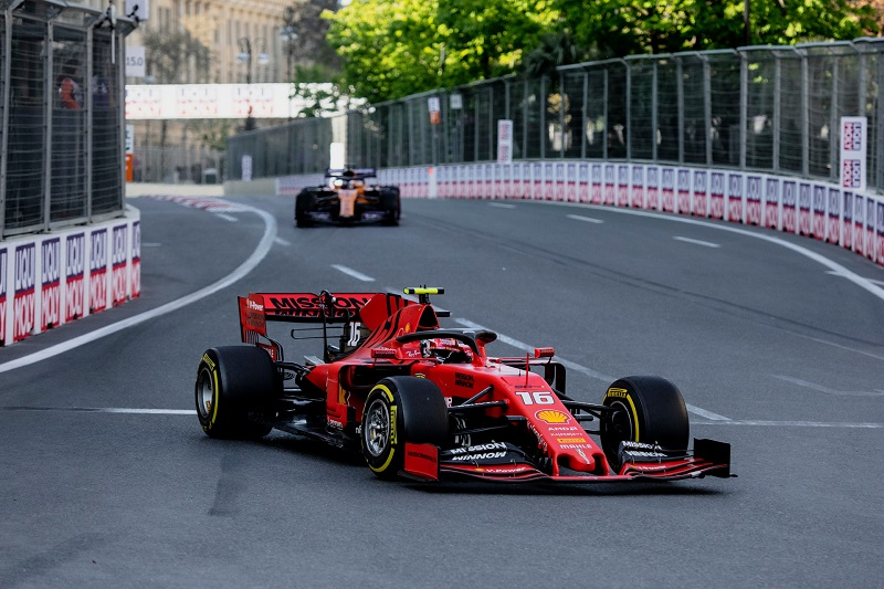 Charles Leclerc - Scuderia Ferrari Mission Winnow - Baku City Circuit