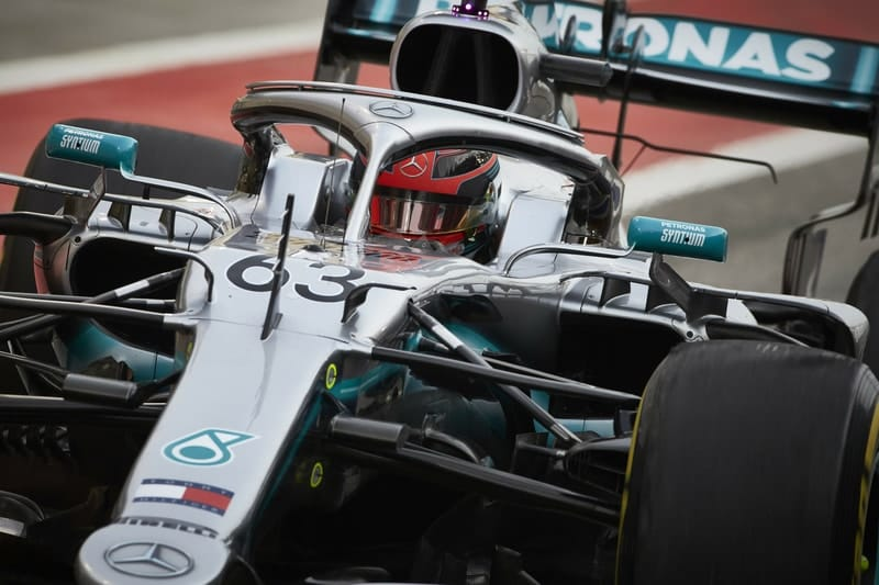 George Russell leads the way in Day 2 of Bahrain Testing