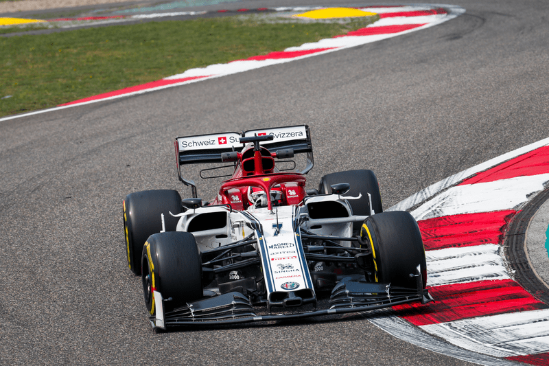 Kimi Räikkönen - Alfa Romeo Racing - Shanghai International Circuit