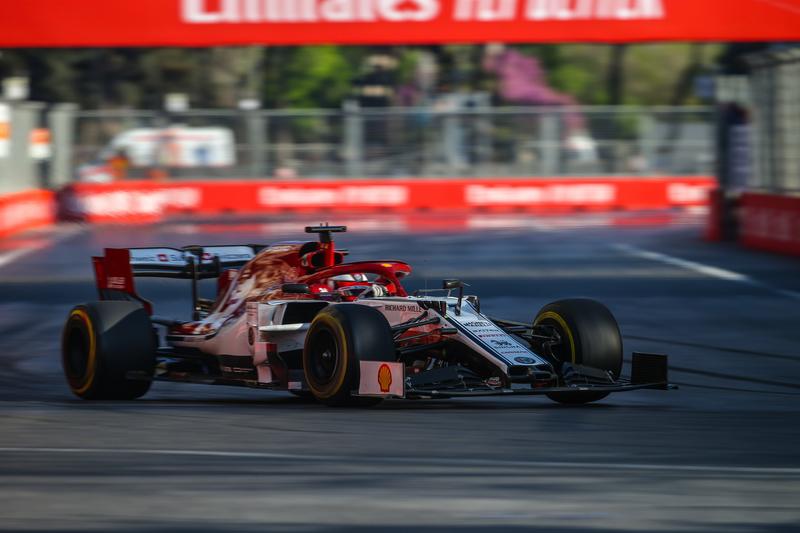 Kimi Räikkönen - Alfa Romeo Racing - Baku City Circuit