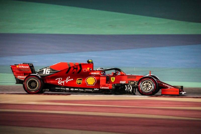 Leclerc - Bahrain - Race