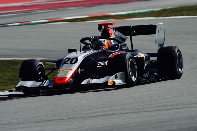 Leonardo Pulcini - Testing Circuit de Barcelona-Catalunya Day 2