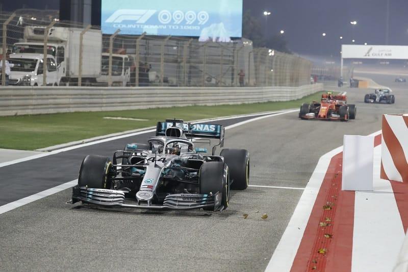 Lewis Hamilton - Mercedes AMG Petronas Motorsport - Sakhir International Circuit