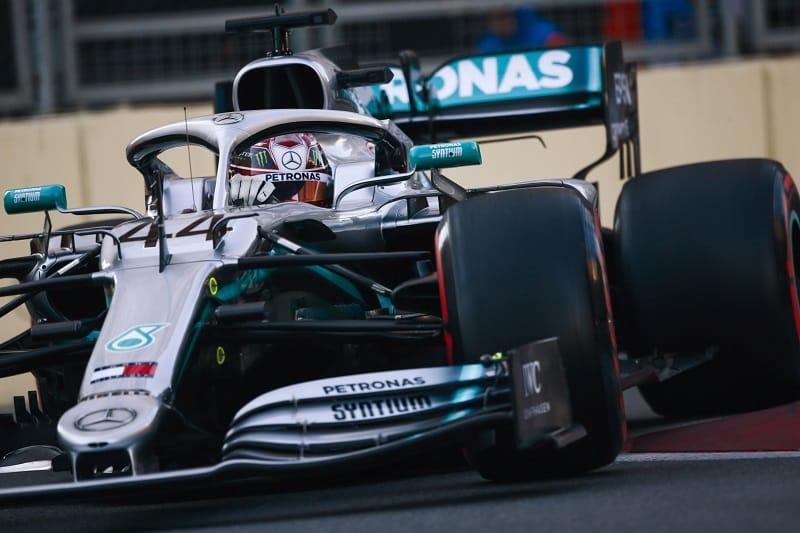 Lewis Hamilton - Mercedes AMG Petronas Motorsport - Baku City Circuit