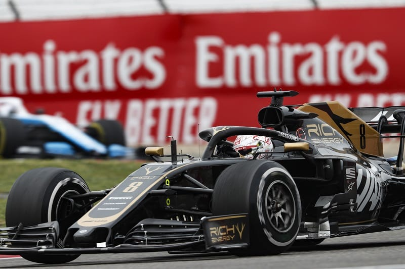 Romain Grosjean - Rich Energy Haas F1 Team - Shanghai International Circuit