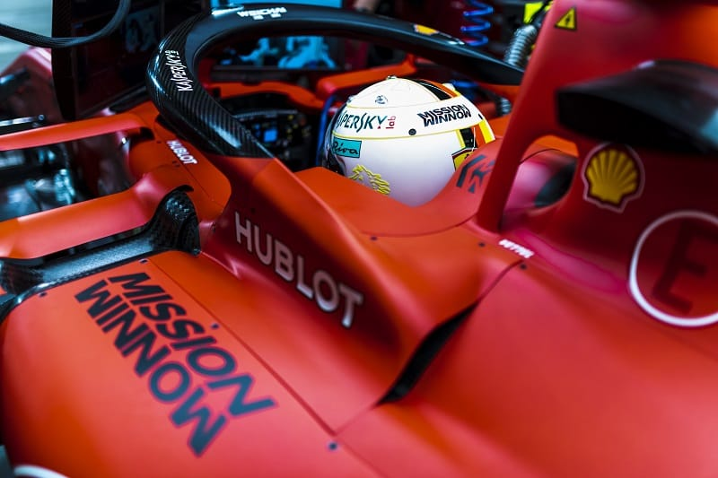 Sebastian Vettel - Scuderia Ferrari Mission Winnow - Sakhir International Circuit