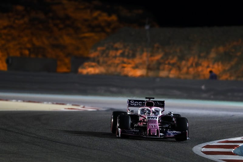 Sergio Pérez - SportPesa Racing Point F1 Team - Sakhir International Circuit