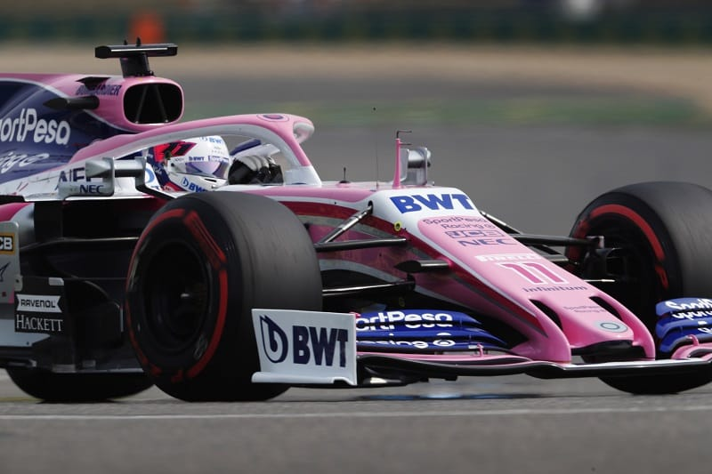 Sergio Pérez - SportPesa Racing Point F1 Team - Shanghai International Circuit
