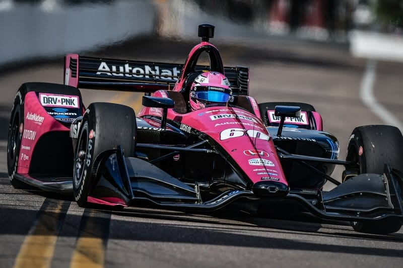Jack Harvey (GBR), Meyer Shank Racing, 2019 NTT IndyCar Series, St. Petersburg