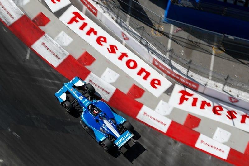 Felix Rosenqvist (SWE), Chip Ganassi Racing, 2019 NTT IndyCar Series, Long Beach