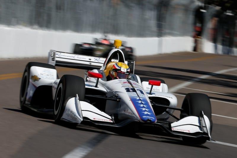 Ben Hanley (GBR), DragonSpeed, 2019 NTT IndyCar Series, St. Petersburg