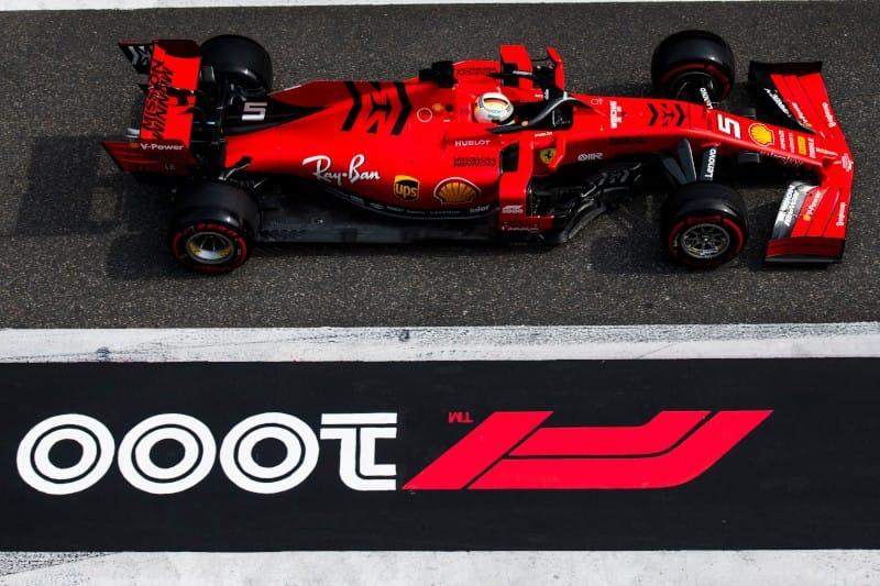 Vettel - China - Ferrari 2019