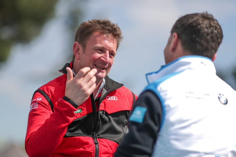 Allan McNish - Audi Sport ABT Schaeffler at the 2019 Rome ePrix