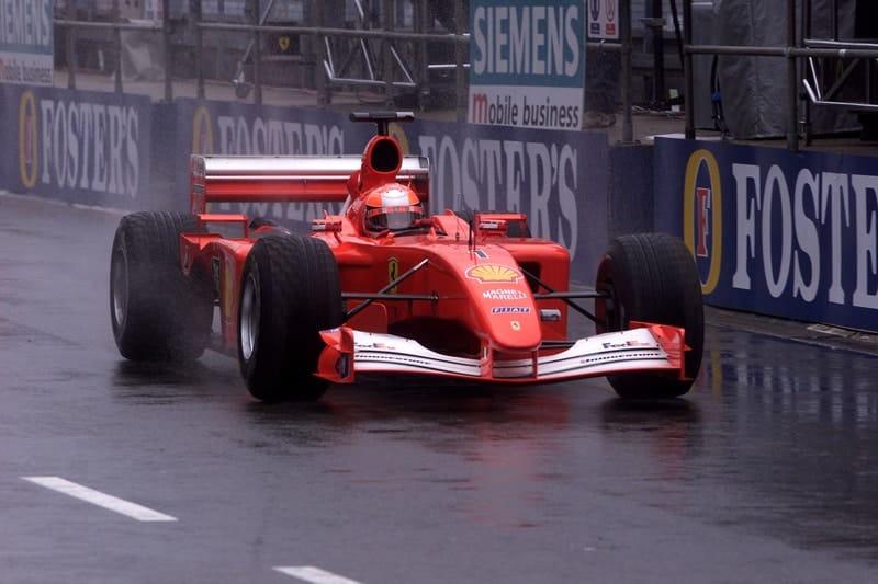 Michael Schumacher - Formula 1 - 2001 British GP