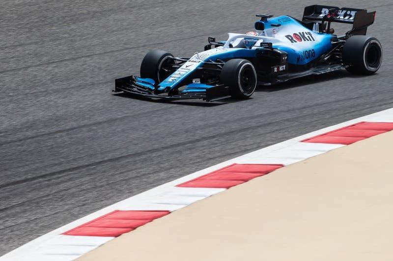 Nicholas Latifi - Formula 1 - 2019 Bahrain Test