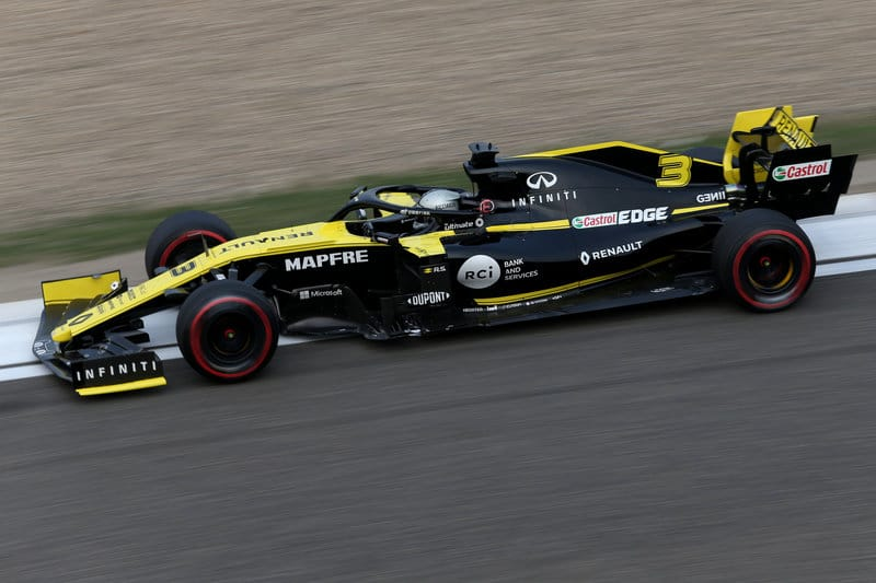 Daniel Ricciardo - Renault F1 Team - Shanghai International Circuit