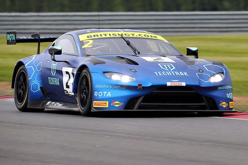 Nikki Thiim and Mark Farmer's TF Sport Aston Martin V8 Vantage GT3.