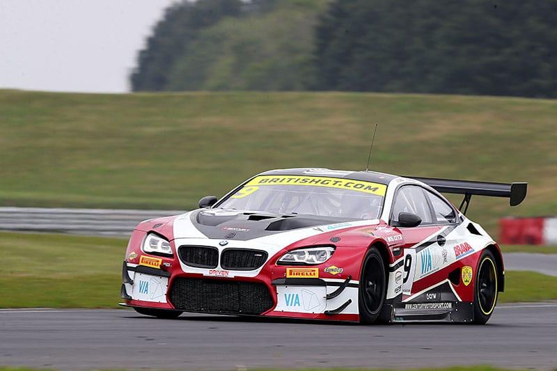 The #9 BMW M6 GT3 of Century Motorsport at Snetterton
