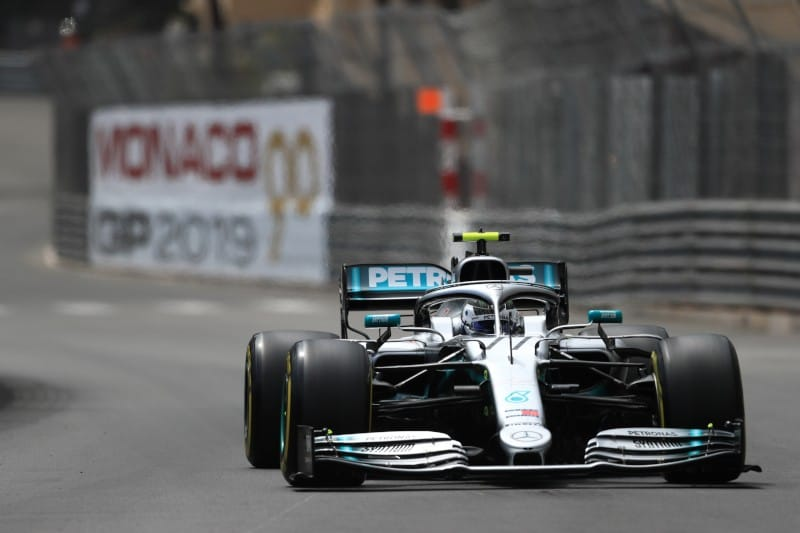 Bottas - Mercedes - Monaco Thursday