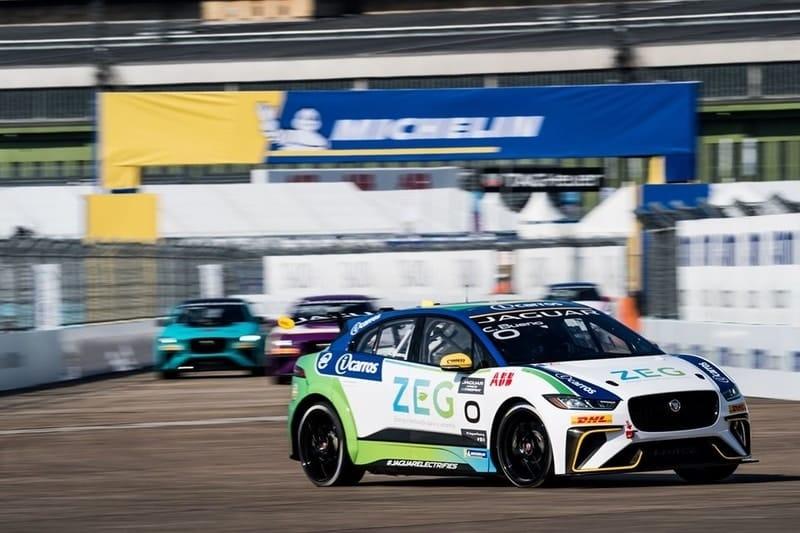 Caca Bueno wins Jaguar I-Pace eTrophy race in Berlin