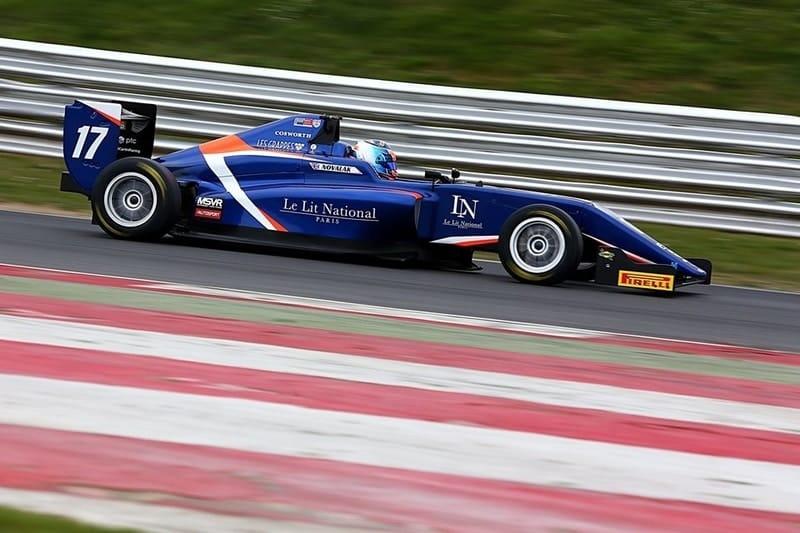 Clement Novalak - Snetterton pole