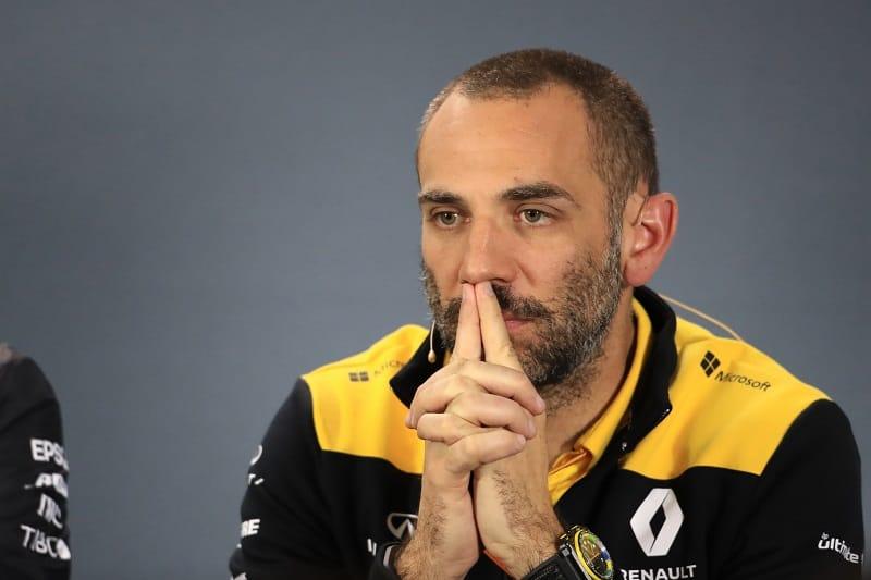 Cyril Abiteboul - Renault F1 Team's Team Principal - Albert Park
