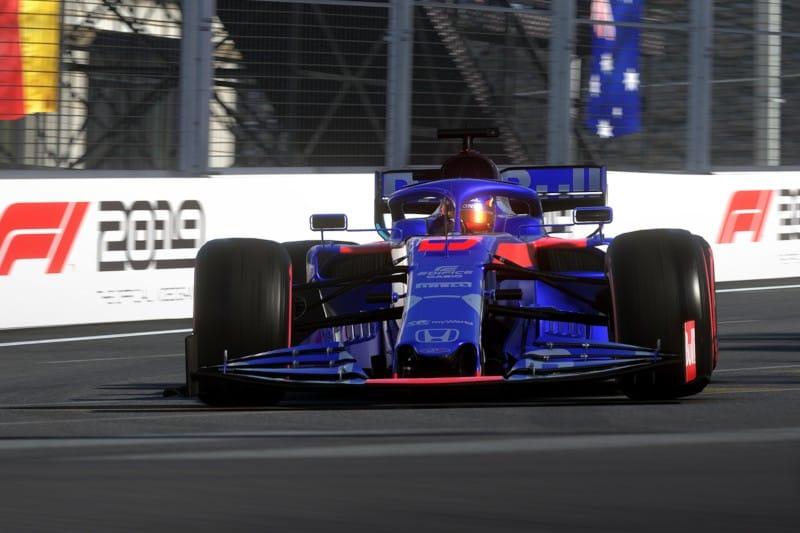 F1 2019 - Albon - Toro Rosso