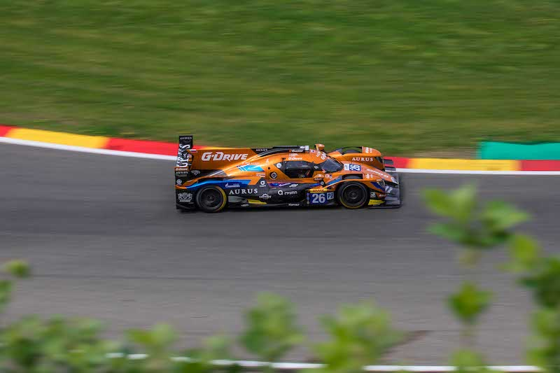 G-Drive Racing are looking strong as they compete this weekend in preparation for the 24 Hours of Le Mans.