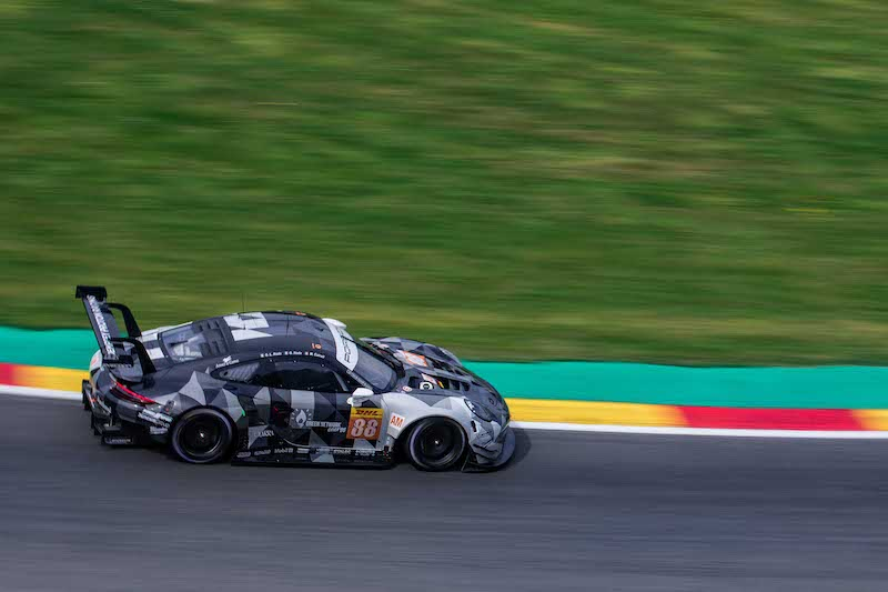 Dempsey-Proton Racing were back on top of GTE Am ahead of qualifying.