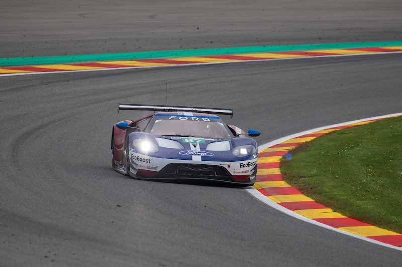 Ford Chip Ganassi Team UK #67 claiming LM GTE Pro pole position for the 2019 6 Hours of Spa-Francorchamps.