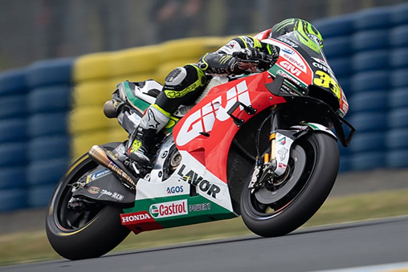 Front End Issues for Crutchlow at Le Mans