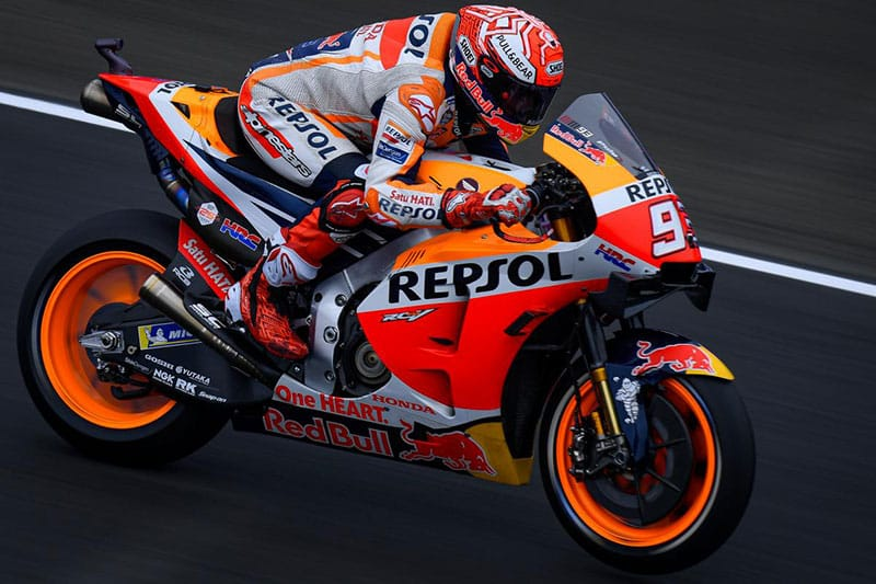 Marquez dominates at Le Mans