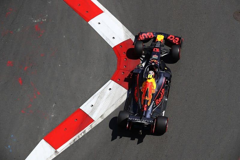 Pierre Gasly - Aston Martin Red Bull Racing - Baku City Circuit