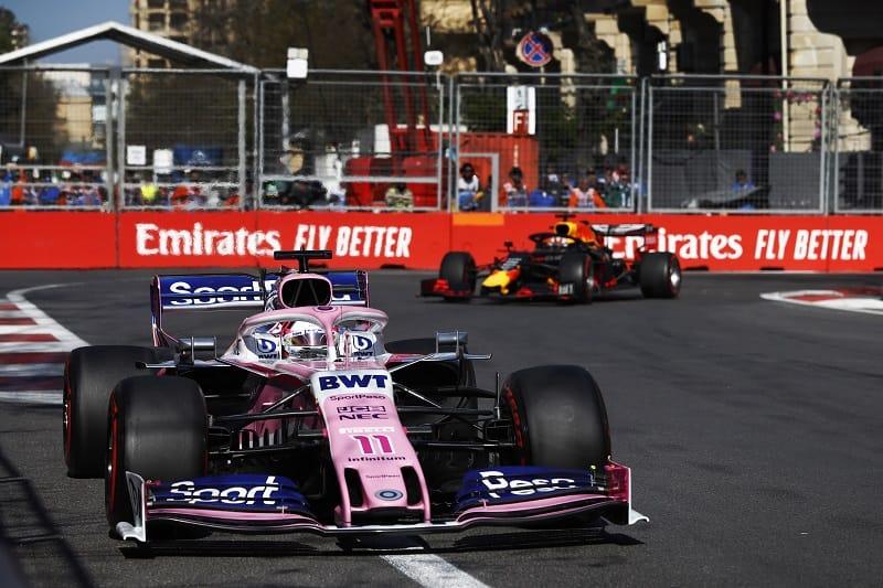 Sergio Pérez - SportPesa Racing Point F1 Team - Baku City Circuit