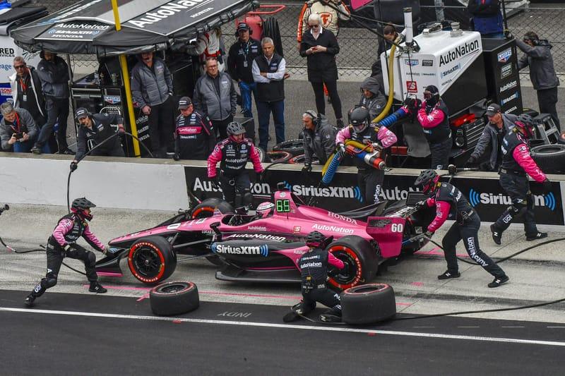 Jack Harvey (GBR), Meyer Shank Racing, 2019 NTT IndyCar Series, Indianapolis