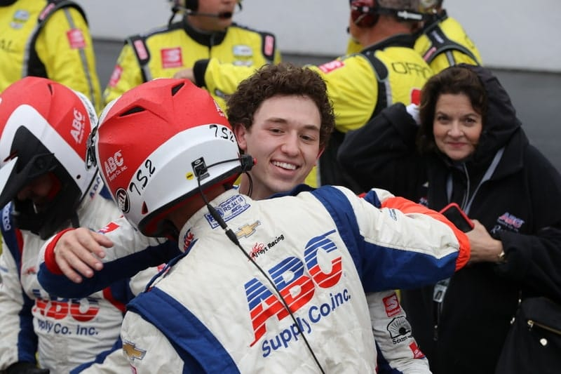 Matheus Leist (BRA), A.J. Foyt Enterprises, 2019 NTT IndyCar Series, Indianapolis