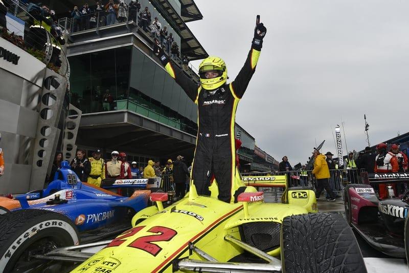 Simon Pagenaud (FRA), Team Penske, 2019 NTT IndyCar Series, Indianapolis