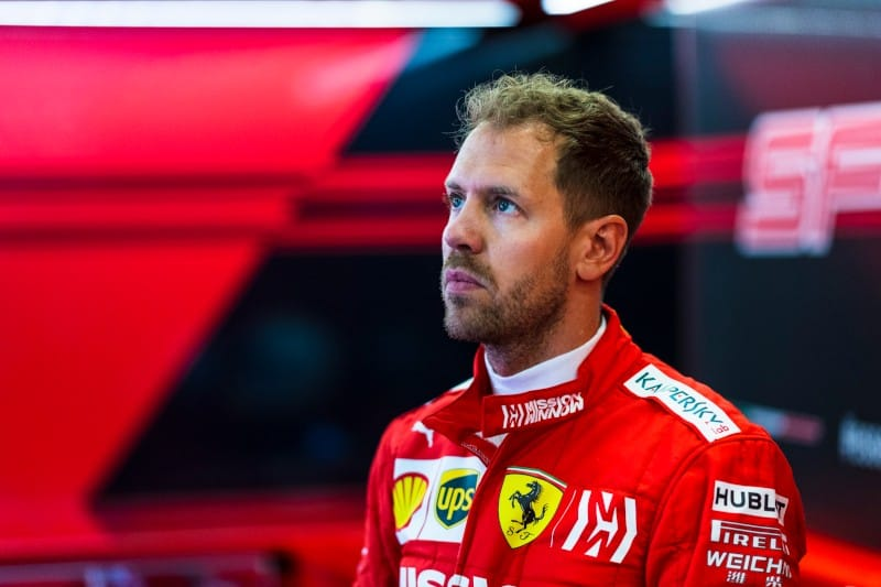 Vettel - Baku - Garage