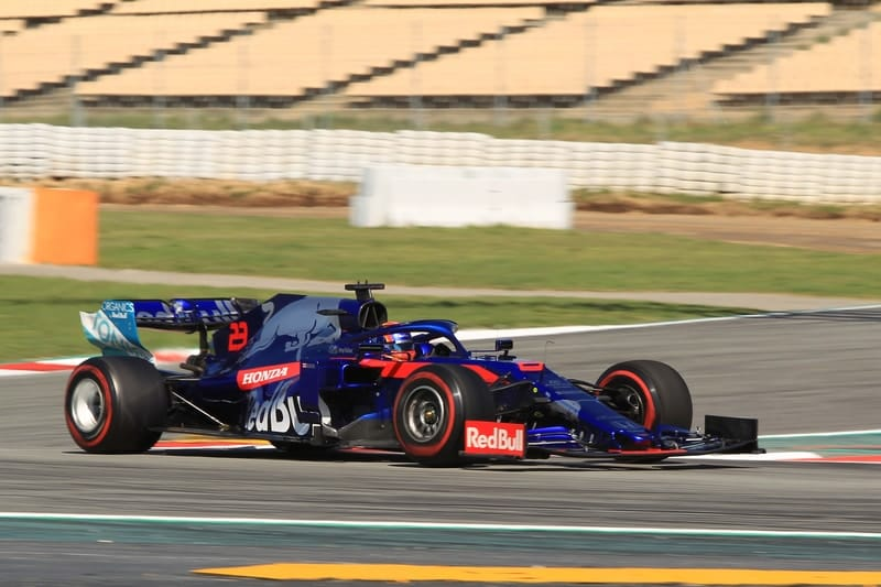 Alexander Albon - Formula 1 - 2019 Spain Test