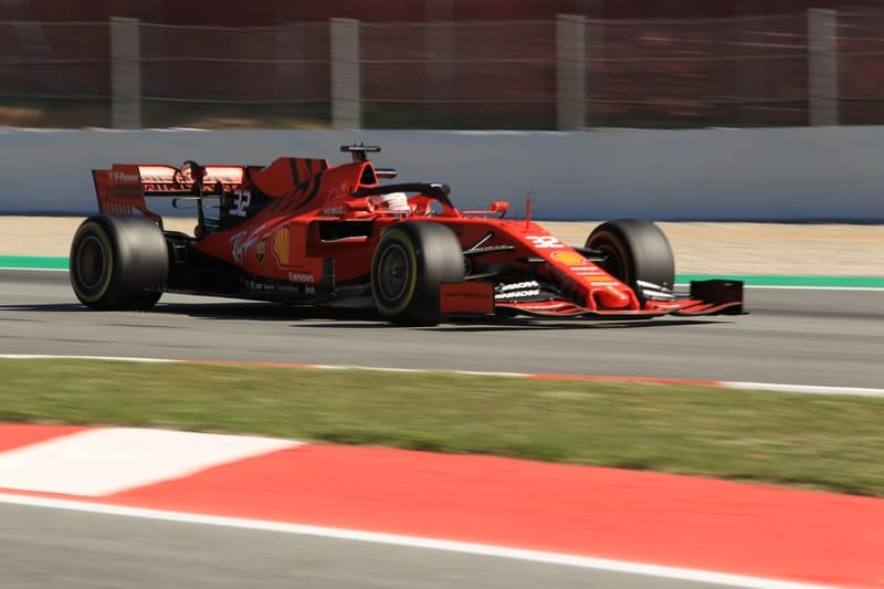 Antonio Fuoco - Formula 1 - 2019 Spain Test
