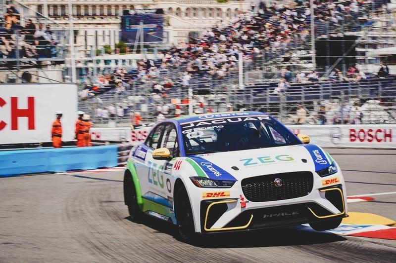 Caca Bueno - Jaguar Brazil Racing at the 2018-19 Jaguar I-Pace eTrophy - Monaco - Race