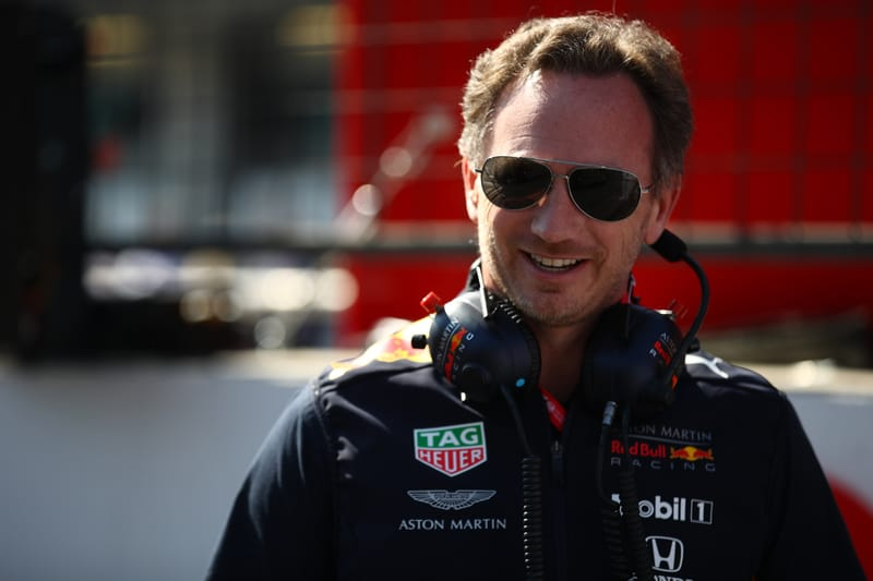 Christian Horner - Aston Martin Red Bull Racing at the 2019 Formula 1 Azerbaijan Grand Prix - Baku City Circuit