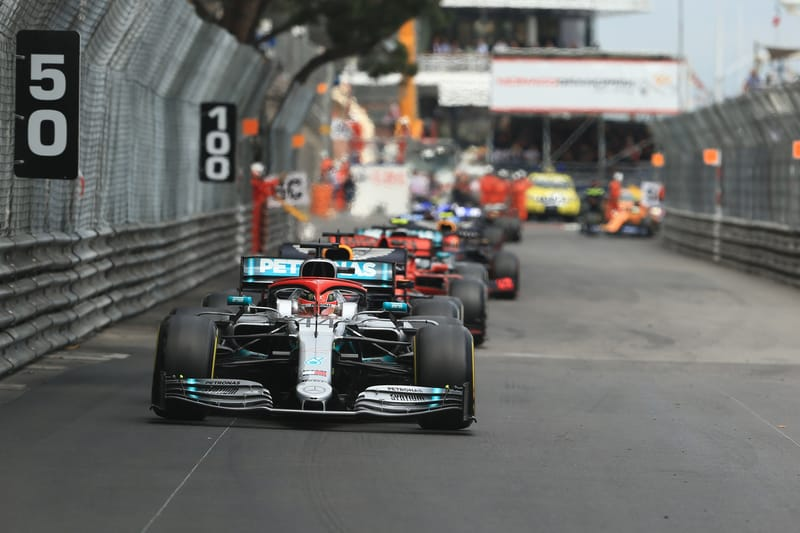 Mercedes Amg Petronas >> Lewis Hamilton fights off Verstappen to win in Monaco - The Checkered Flag