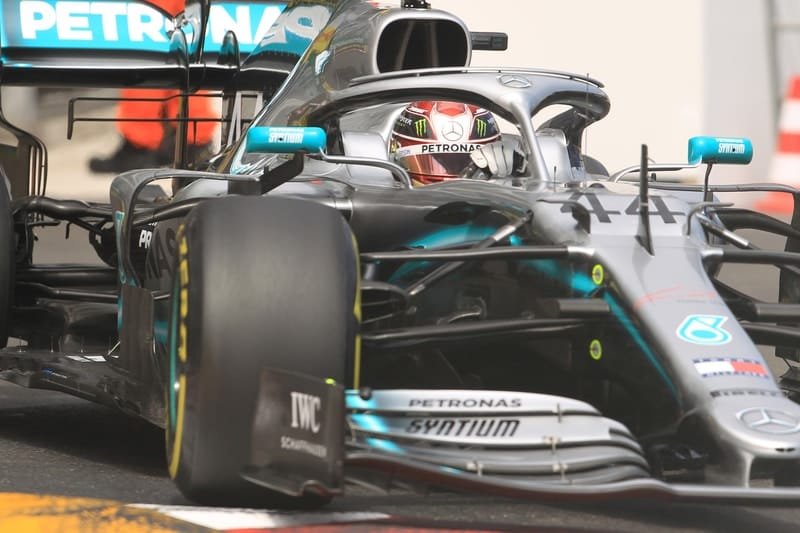 Hamilton and Bottas clear of the field in F1 Monaco FP2 - The Checkered Flag